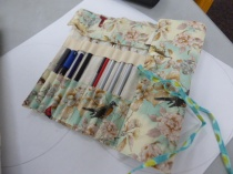Jan has also made a pencil roll for her daughter